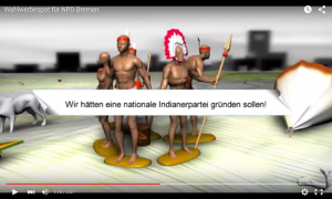 screenshot Indianerpartei