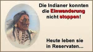 SVP Aargau Einwanderung Indianer